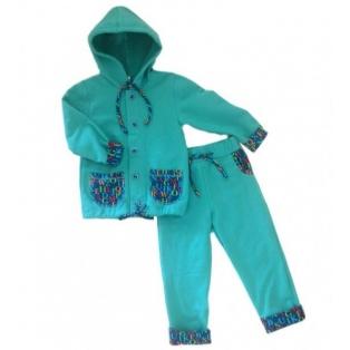 Roheline taskutega jakk