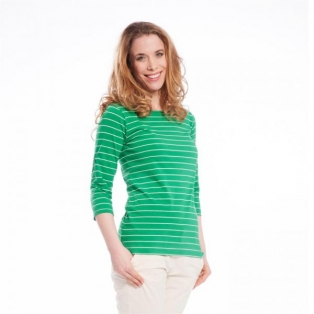 Striped Shirt, 3/4-Sleeve