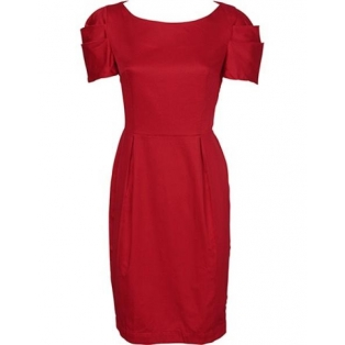Delphine poplin dress