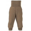 Upon order: Baby pants long with waistband, walnut