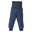 Upon order: Baby pants long with waistband, blue