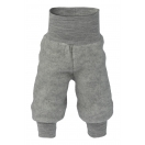 Upon order: Baby pants long with waistband, light grey