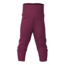 Upon order: Baby wool-silk pants with waistband, orchid