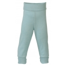 Upon order: Baby wool-silk pants with waistband, glacier