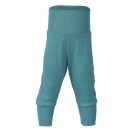 Upon order: Baby wool-silk pants with waistband, ice-blue