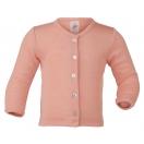Tellimisel: Beebi villa-siidi jakk, lõheroosa