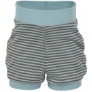 Upon order: Baby wool-silk summer shorts, glacier-wallnut