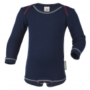 Upon order: Baby cotton body long sleeved, indigo