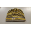 Children hat stripe. yellow / gray