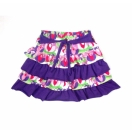 Organic cotton skirts, purple (lilac)