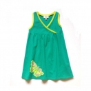 Children's dress with butterfly