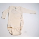 Baby-body long sleeved with press-studs