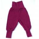 Baby-pants long with waistband (wool/silk)