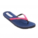 Maasai Treads, women, navy/pink