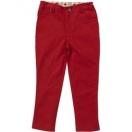 Harlequin jeans red