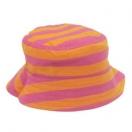Kahepoolne laste müts, roosa