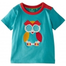 Blue Bay Owl Short Sleeve Tee,     t-shirt