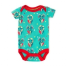 The tale of the goat and the lion baby body, turquoise