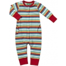Summer Rainbow Multi Talented Playsuit, striped