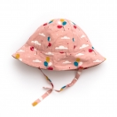Pale Pink Balloons Reversible hat