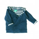 Blue botton jacket