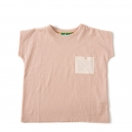 Cloud Pink Slub Jersey Breezy Tee