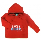 Hoodie EASY RIDER, red