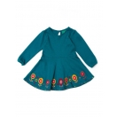 Biscan bay embroidered flower dress