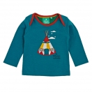 Teepee fight applique tee shirt