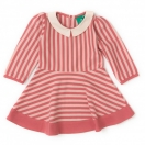 Sunset Pink Stripes Forever Dress
