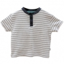 Striped Henley Topp