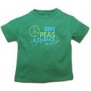 T-särk Give Peas a Chance, roheline