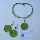 Green rose set