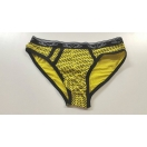 Men's briefs: Yellow flame