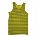 Men's vest: Yellow flame