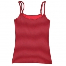 Women's vest: red flag
