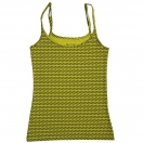Women's vest: yellow flame