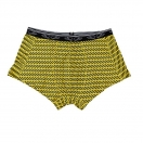 Men's trunk: Yellow flame