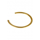 Bethany bangle, brass