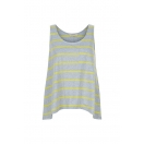 Stripe flared tank