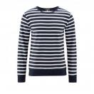 Sweatshirt INGO, ink blue/white