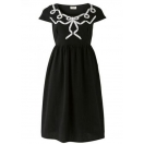 Imogen bow embroidered dress