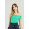 Sabina Off Shoulder Topp