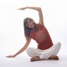 Organic cotton yoga top