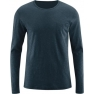 Men's long-sleeved shirt Bruce, night blue
