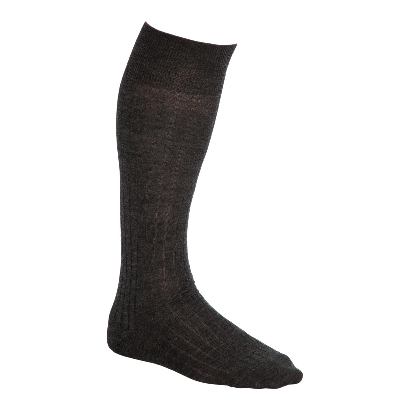 Virgin wool knee socks