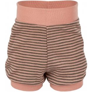Tellimisel: Beebi villa-siidi lühikesed püksid, lõheroosa-kreekapähkli