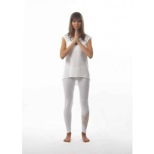 Tencel leggings with mandala