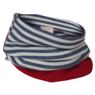 Children's merino wool loop scarf