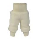Upon order: Baby pants long with waistband, natural
